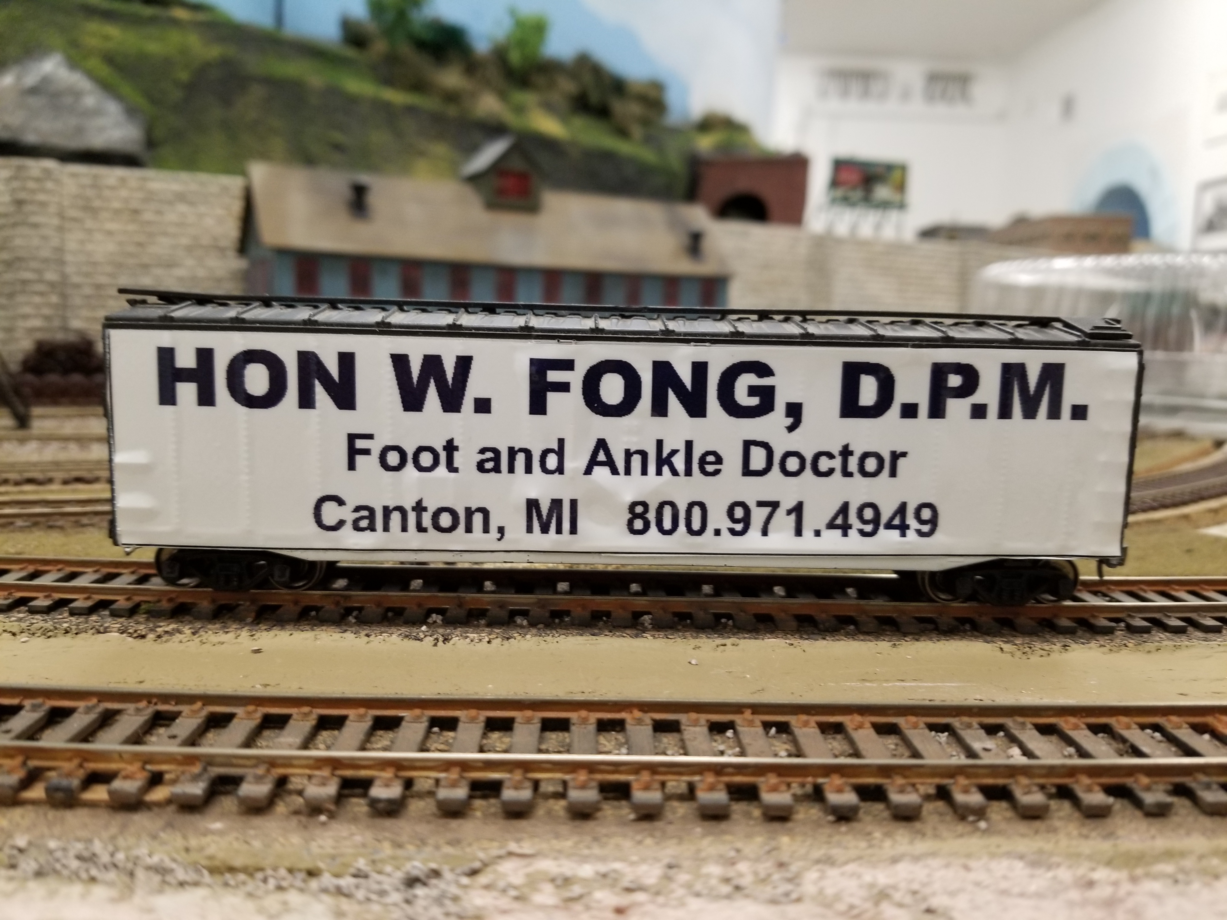 Hon W Fong Ankle Medicine & Surgery