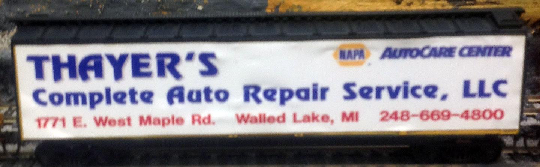 Thayers auto repair