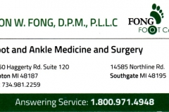 Fong Foot Care