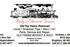 Andy's Electric Trains