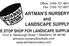 Artman's Nursery & Landscape Supply