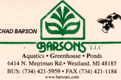 Barsons Greenhouse