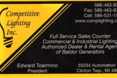 Competitive Lighting Inc.