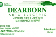 Dearborn Auto Electric